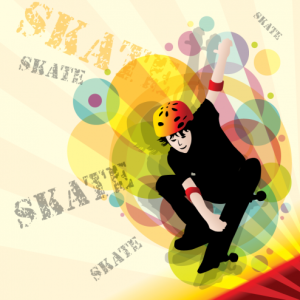 vector-experimental-skater-design-preview-by-dragonart