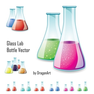 Glass Lab Bottle