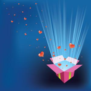 Love Present Card