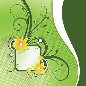 Floral Announcement