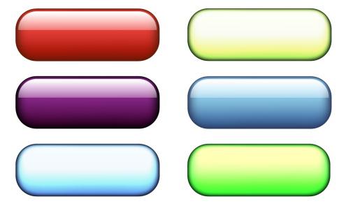 Web page button definition