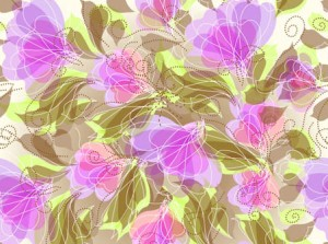 Abstract Seameless Floral Background 452